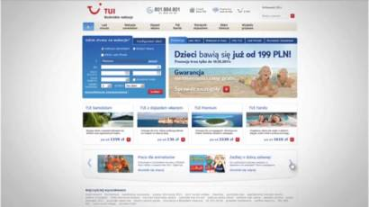 Web Promo Video – New website of TUI Poland